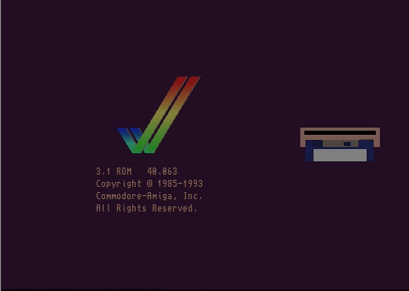 Emulated Amiga 500